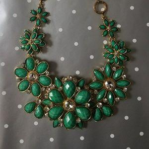 Green Statement Amrita Singh Necklace